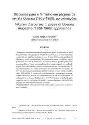 Discursos para o feminino em páginas da revista Querida ... - Educ