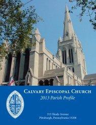 Parish Profile - Calvary Episcopal Church