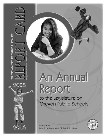 Statewide Annual Report Card - Oregon Department of Education