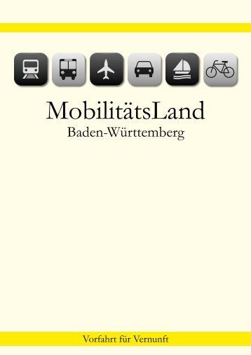 MobilitätsLand Baden-Württemberg - PR Presseverlag Süd GmbH