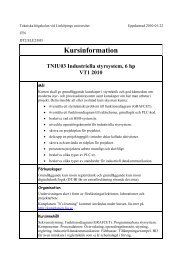 Kursinformation - itslearning