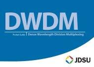DWDM Pocket Guide - TMG Test Equipment