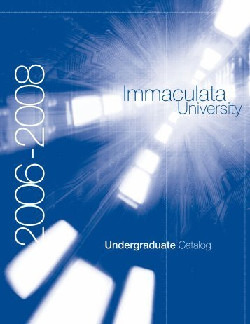 8529 Cat.qxd - Immaculata University
