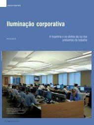 Iluminação corporativa - Lume Arquitetura