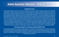 Active Assailant (Shooter) – Protocol 136 Active Assailant (Shooter ...