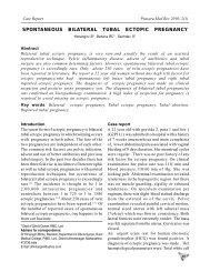 Spontaneous bilateral tubal ectopic pregnancy Himangini B, Behera ...