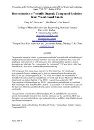 AP1-4 - Society of Wood Science and Technology