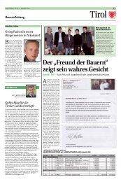 """Der """"Freund der Bauern"""" - Tiroler Bauernbund"""