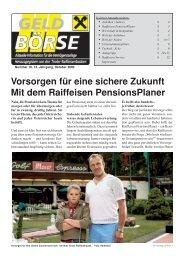 geldbırse 10/06 - Raiffeisen Landesbank Tirol