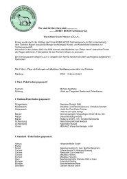 Futter-Sponsoren 2011 - Tierheim Mayen