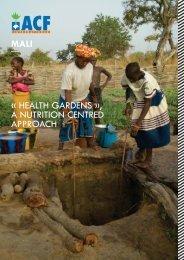 health gardens - Action Against Hunger