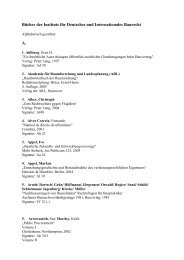 Bücher des Instituts für Deutsches und Internationales Baurecht e