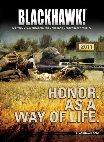 Catalogue - Blackhawk 2011 - NIOA LEM