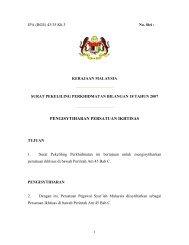 surat pekeliling perkhidmatan bilangan 18 tahun 2007 - JPA