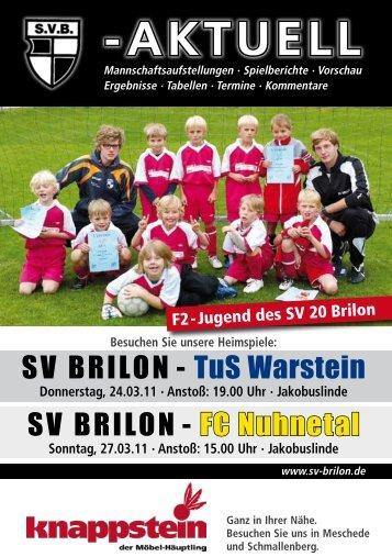 Keffelker Straße 14 Tel. (02961) 9875-911 · Fax - SV 20 Brilon