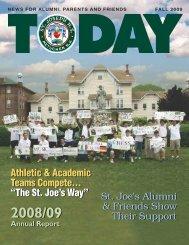 Athletic & Academic Teams Compete... - St. Joseph High School