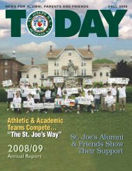 Athletic & Academic Teams Compete... - St. Joseph High School
