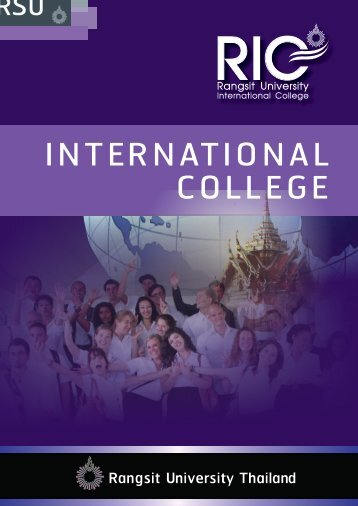 Curriculum Description - มหาวิทยาลัยรังสิต