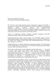 Maavara kaevandamise loa andmise eelnõu - Keskkonnaministeerium