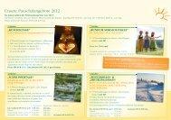 Unsere Pauschalangebote 2012 - Hotel Tanne Tonbach