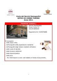 Servizi demografici - Comune di Genova