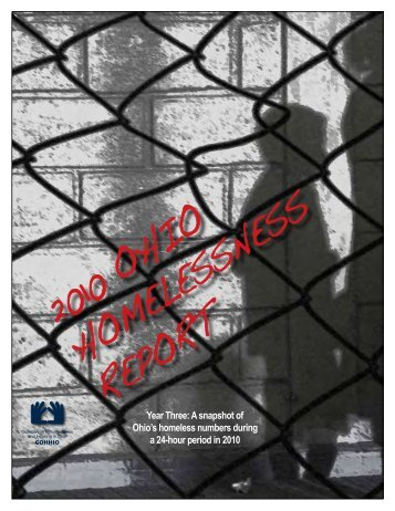 2010 OhiO hOmelessness RepORt - cohhio