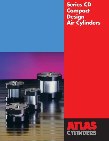 CD Series Compact Design Air Cylinders - Norman Equipment Co.