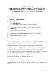 protokoll der 35. ordentlichen generalversammlung des tennisclubs ...