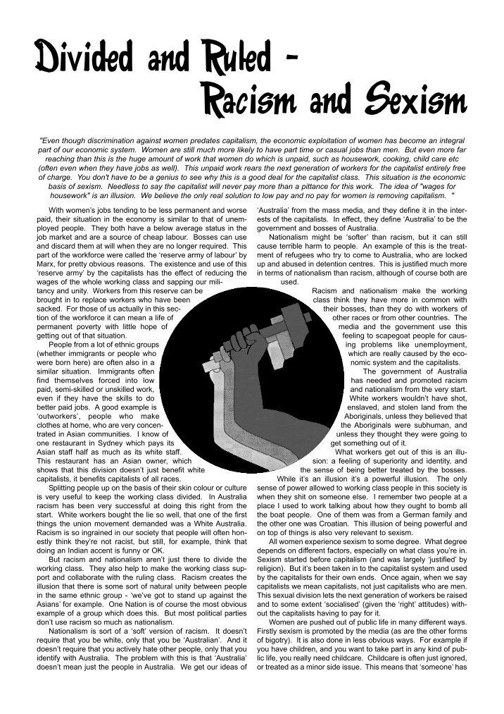 a class divided discrimination against others Read this essay on a class divided for a lesson in discrimination she divided her class of third graders into slavery and has turned against each other.