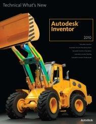 Autodesk Inventor 2010 What's New - Autodesk Inventor Wizard
