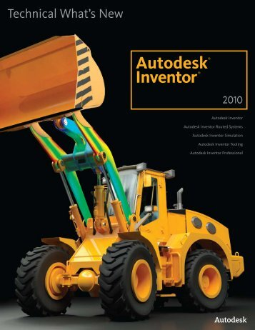 Autodesk Inventor 2010 What's New - Autodesk Inventor Wizard