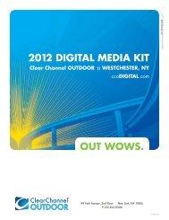 Westchester Digital Outdoor Network Media Kit - Clear Channel ...