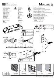 Xcomfort CAAE-01/01 ~ 60-90% - Moeller