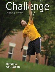 Challenge - Fall/Winter 2008 - Tiffin University
