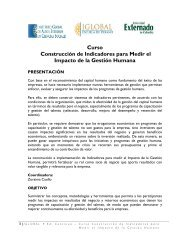 Curso Construcción de Indicadores para Medir el Impacto de la ...