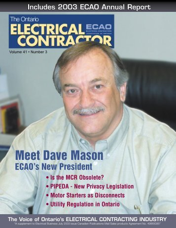 contractor - Electrical Contractors Association of Ontario