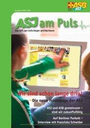Download ASJ AmPuls 1-08_Web.pdf ca. 7162 Kb - Arbeiter ...