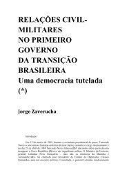 RELAÇÕES CIVIL - Plataforma Democrática