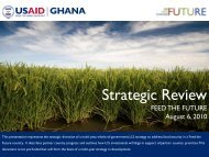 Ghana Feed The Future Strategic Review