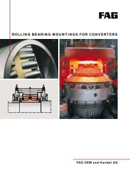 ROLLING BEARING MOUNTINGS FOR CONVERTERS