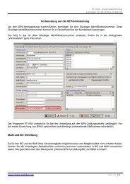 (PC-VAB) - SEPA-Umstellung - VR-Bank Vilsbiburg eG