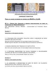 8universidade estadual do sudoeste da bahia – uesb - UFRB