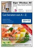 Das offizielle Monatsmagazin für Beinwil am See - Seite 6