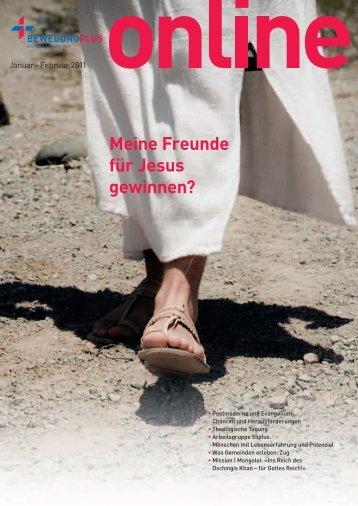 Februar: Meine Freunde für Jesus gewinnen? - BewegungPlus