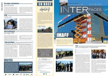 Interfaces n° 31 - iter france