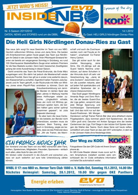 HELI Donau-Ries - New Basket 92 Oberhausen