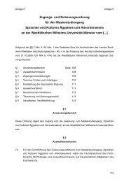 Prüfungs- und Studienordnung für das Bachelorstudium - ZSB