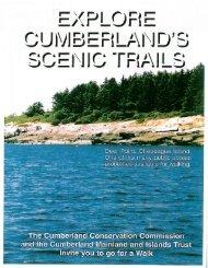 Cumberland Scenic Trail Map - Town of Cumberland