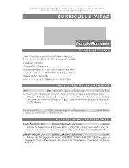 Gonçalo Pereira Fernandes Caleia Rodrigues - Universidade de ...