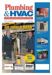 April 2008 - Plumbing & HVAC